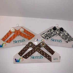 Sierra's Changeable Straps 3 sets Fits 7-11